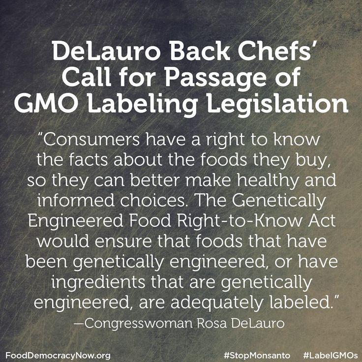 Congresswoman Rosa DeLauro, whose district includes part of Shelton, said she supports the call of Tom Colicchio and over 700 other chefs for passage of the Genetically Engineered Food Right-to-Know Act. More here: http://www.fooddemocracynow.org/blog/2014/dec/2-0 #GMOs #food #LabelGMOs