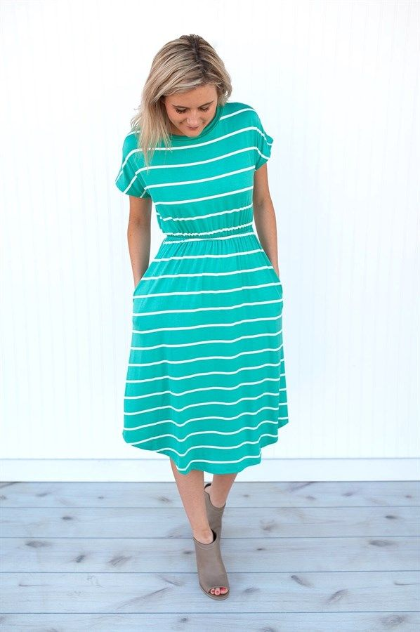 Meet your go-to dress for this Spring!  Available in 4 gorgeous colors.