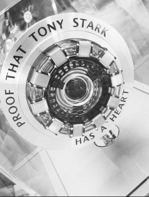 Proof that Tony Stark has a heart...