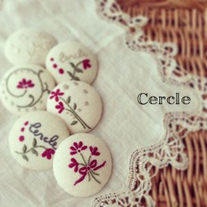 刺繍 : Cercle
