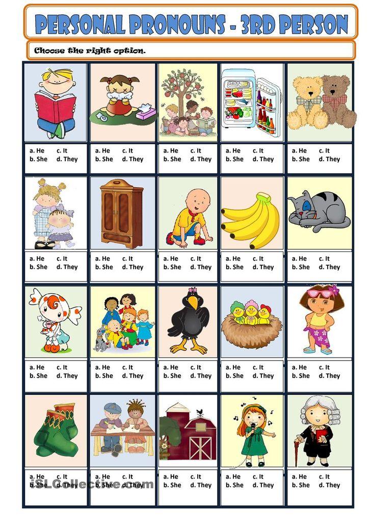Personal Pronouns - 3rd person More