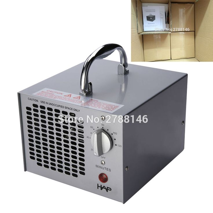 3.5G ozone generator for home and commercial air purification (4pcs)