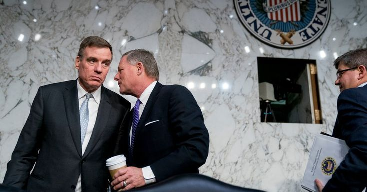 In an extraordinary confrontation, the bipartisan leaders of the Senate Intelligence Committee told the House speaker that his troops had leaked a senator's texts with a Russia-connected lawyer.