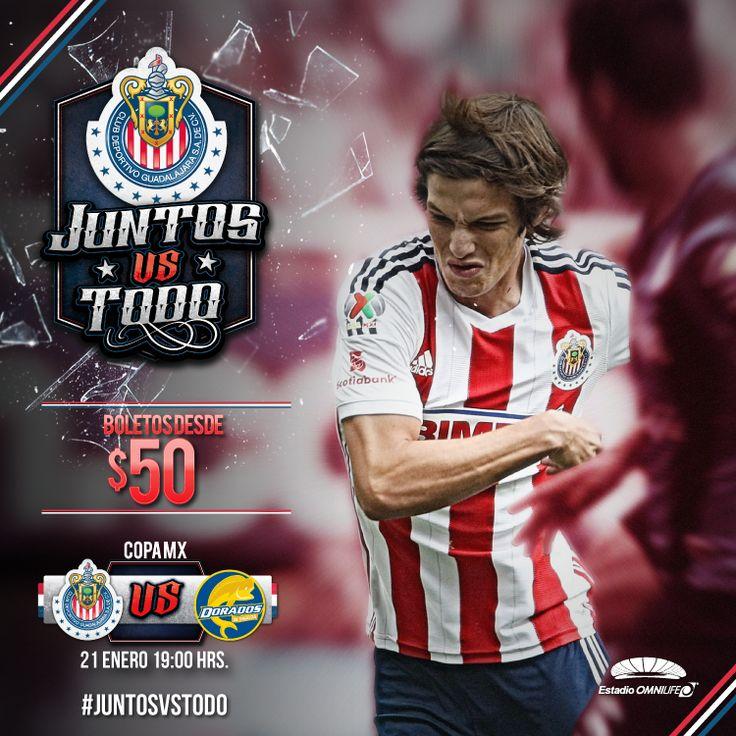 NUEVA PROMOCIÓN PARA EL PARTIDO CHIVAS VS DORADOS || Luego de que la oferta para el juego contra Pumas fuera todo un éxito, el Rebaño lanzó un descuento para el encuentro de Copa MX.