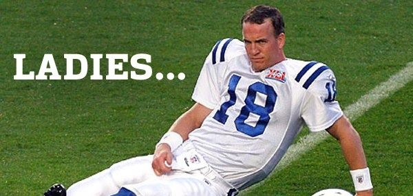 """""""OH hey, ladies."""" Sincerely, Peyton Manning. #nfl #football #espn #broncos #colts"""