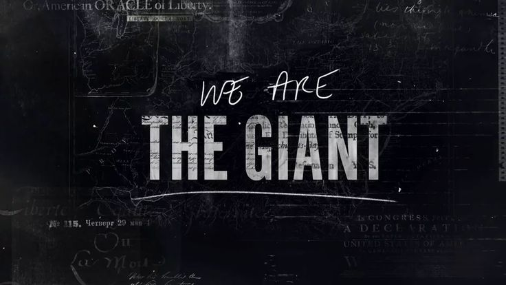 We Are The Giant - Opening Title Sequence on Vimeo