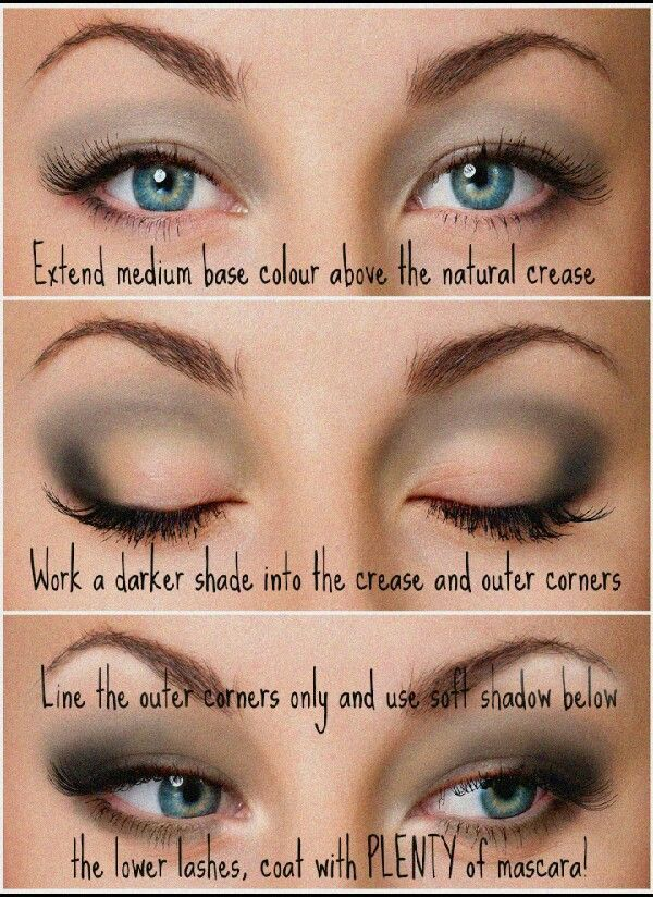 Eyeshadow Techniques for Hooded Eyes | DID YOU KNOW smokey eyeshadow application for hooded eyes