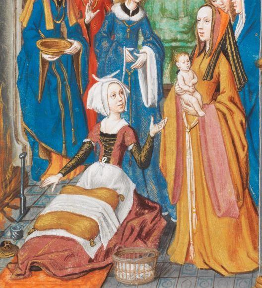 Quintus Curtius Rufus, Faits et gestes d'Alexandre Brügge · ca. 1475-1500 Ms. fr. 76  Folio 18r