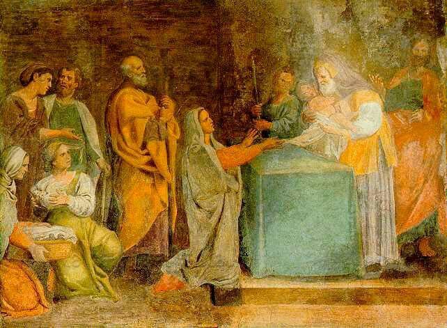1618. Presentazione al Tempio. Cappella Nolfi nel Duomo di Fano