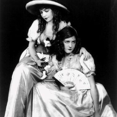 1910s: Silent Screen Stars Dorothy Gish & Lillian Gish