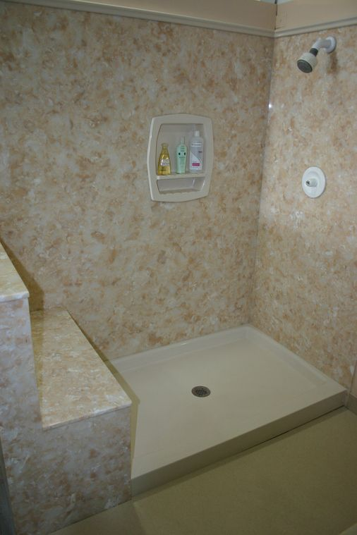 Synmar Cultured Marble [ Bathrooms [ Showers [ Sink Tops [ Cabinets
