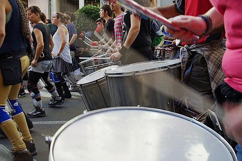 Al ritmo del tambor