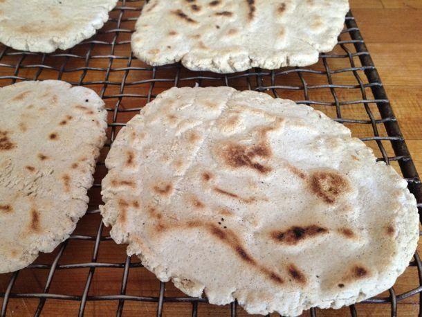 dude. these are amazing. gluten free skillet flatbread!