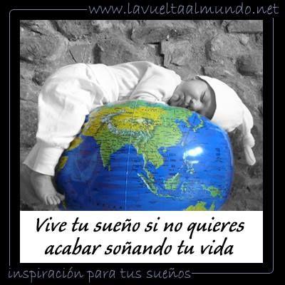 Vive tu sueño si no quieres acabar soñando tu vida