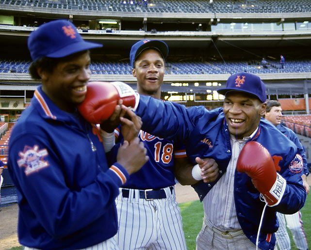 Dwight Gooden, Darryl Strawberry, Mike Tyson