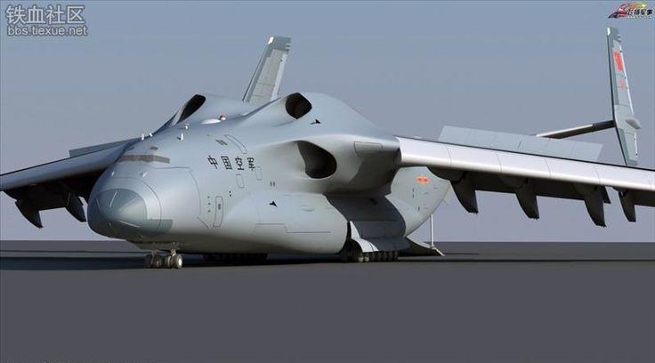 Estaria a China projetando uma nova aeronave de transporte estratégico?