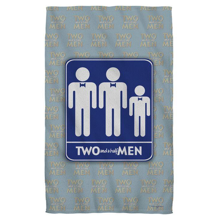 Two And A Half Men Men Golf Towel