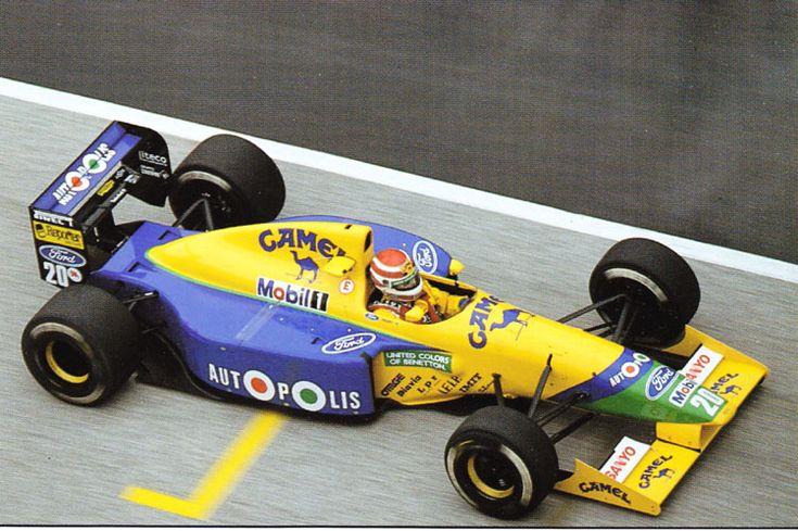 1991 Benetton B191- Ford (Nelson Piquet)