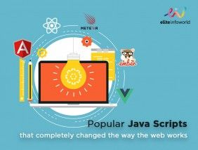 The popularity of Java script keeps increasing by the day.