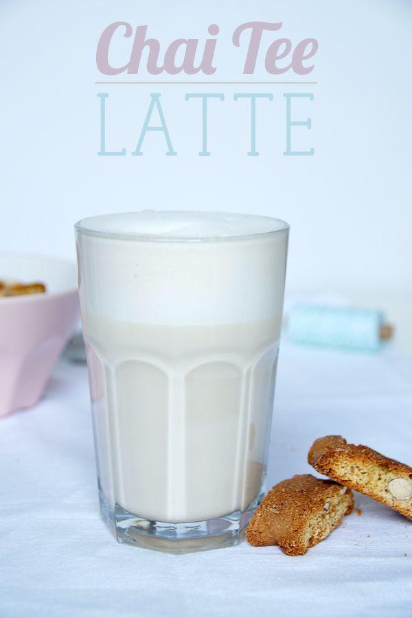 Perfekt für die ersten Herbsttage: Mein Chai Tee Latte Rezept