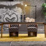 Sır Yemek Odası / Sır Diningroom / #mobilya #furniture #tasarım #dekorasyon #stil #style #design #decoration #home #homestyle #homedesign #loft #loftstyle #homesweethome #diningroom #livingroom #yemekodası #ahsapmobilya #lodamobilya #yemekmasası #masa #table #sandalye #chair