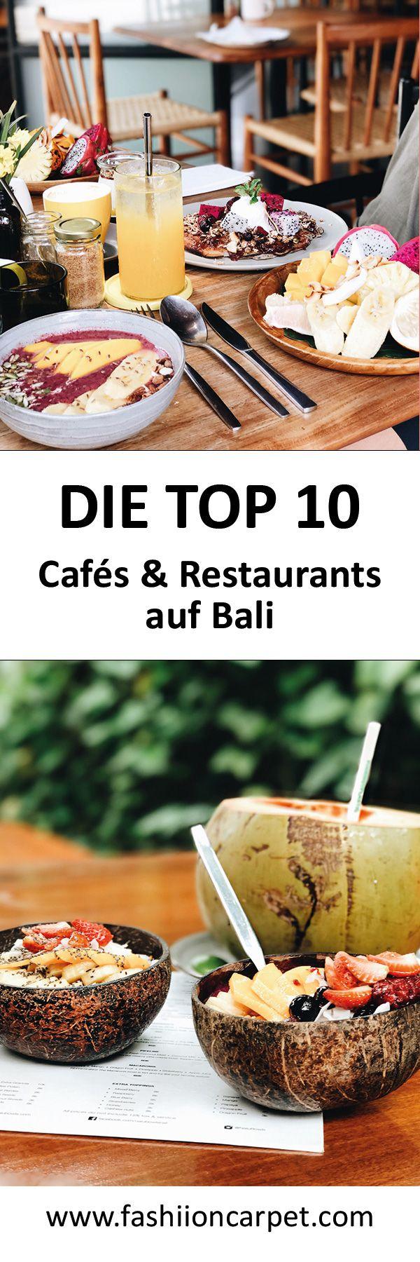 Die besten Restaurants & Frühstück Cafés in Bali (Canggu, Ubud, Uluwatu & Seminyak)