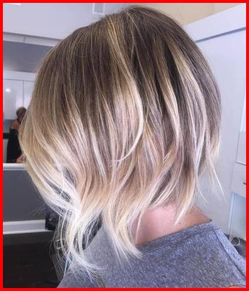 Light Ash Blonde Short Hairstyles Messy Choppy Inverted Bob Hair