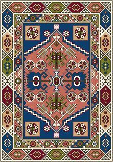 Find This Pin And More On Cross Stitch   Miniature U0026 Big Rug Patterns By  Mariannatsantil.