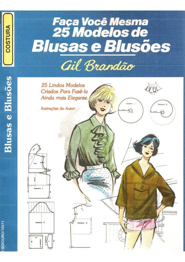 25 modelos de blusas e blusões gil brandão
