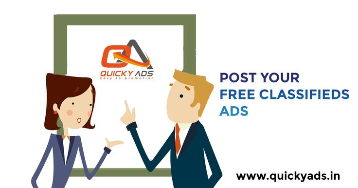 Are you looking for Free Ads ?   If yes, then just a click https://goo.gl/CYsUzS  Quicky Ads - To post a free classified ad related to your business with instant promotions. #Postads #Freeclassifieds