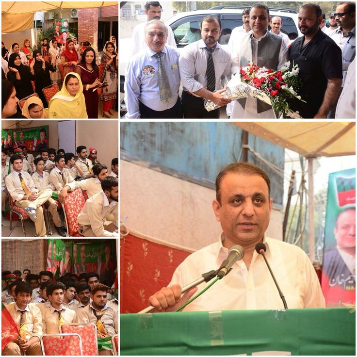Aleem Khan was invited by Nobel College, Shadman to address the students and tell them about the importance of education.Speaking to the students Aleem Khan emphasized the importance of education in society and what steps can be taken out to improve the standard of education in Pakistan