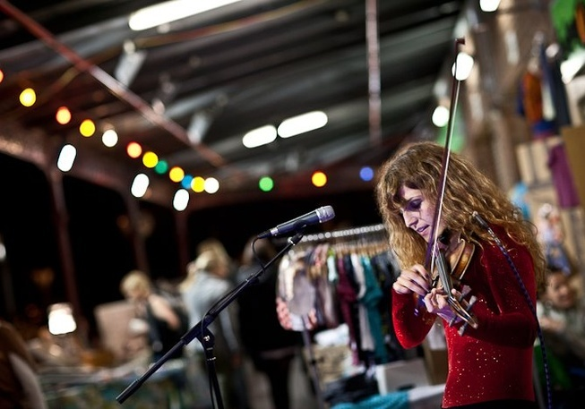 South Melbourne Market's #StyleAfterDark - Thursday nights right near #PPHQ - this year with the Taco Truck in attendance!