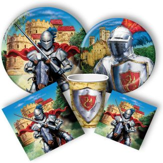 Knight Party Supplies: Knight Birthday Invitations, Party Favors, and Decorations.
