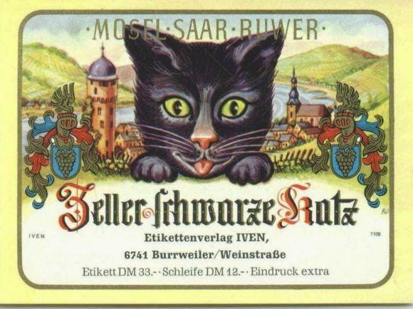 Black Cat from the Town of Zell - Zeller Schwarze Katz Wine