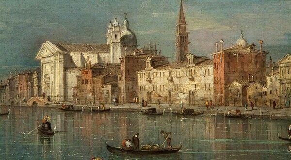 Veduta della Giudecca. Gemäldegalerie Berlin