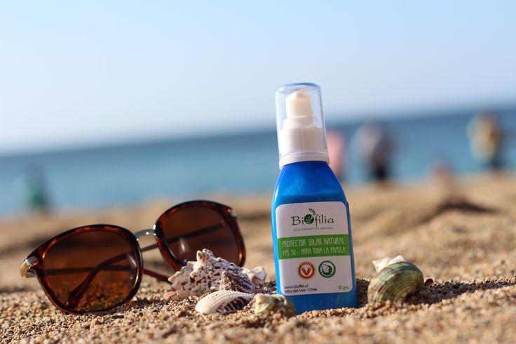 Protector Solar Natural FPS 30 de Biofilia Eco Cosmética