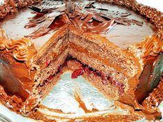 Tort Joffre, reteta a casei Capsa, creata in cinstea maresalului Joffre, blat pufos cu ciocolata si crema fina de unt,un vis de ciocolata ..