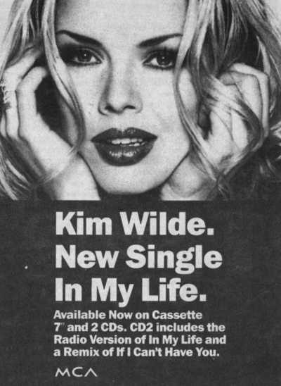'In my life' UK advert, 1993