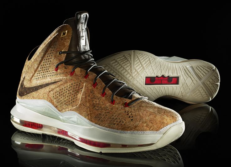 """official photos 28498 b9e58 ... Release Date  Nike LeBron X NSW """"Cork (Champagne)"""""""