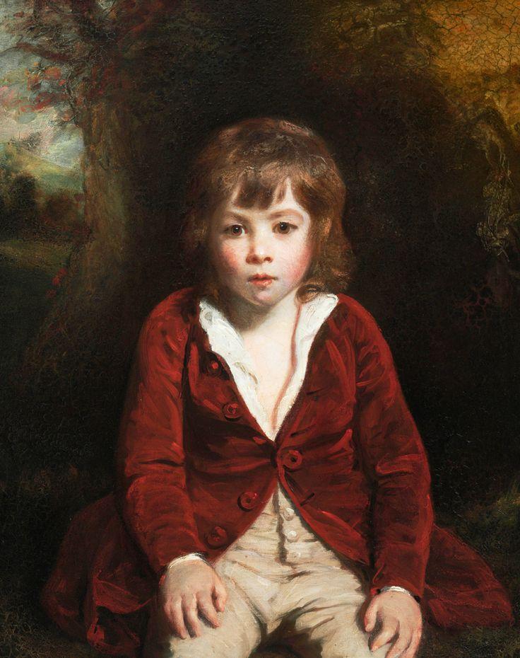 Portrait of Master Bunbury - Sir Joshua Reynolds.