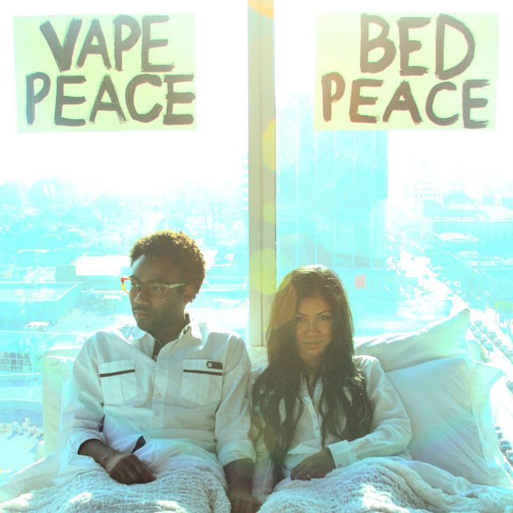 Childish Gambino And Jhene Aiko Bed Peace Lovely