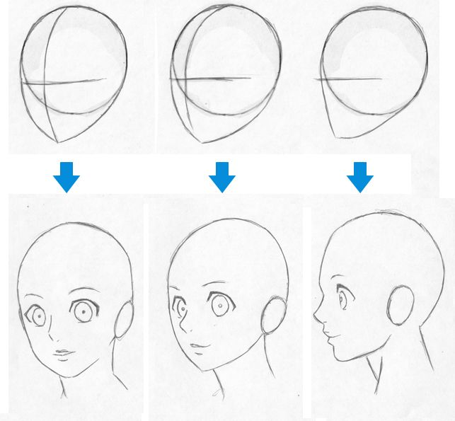 Como dibujar un Anime paso a paso - Imagui