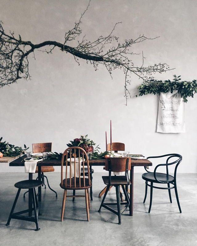 Foldaway Tote - winter branches by VIDA VIDA Siiy6SuQmz