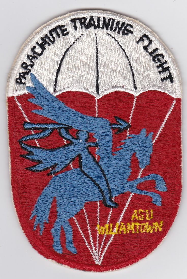 Click To Enlarge  	  RAAF Patch Flight Royal Australian Air Force Parachute Training