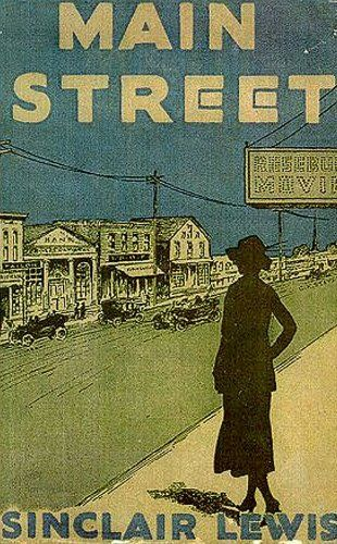 Main Street, 1920 by Sinclair Lewis. One of the first books about women having choices in life...ahead of it's time. Lewis truly captures the reality of the Conservative American Midwesterner of the early 20th century and the struggle of reformers battling against them. He also portrays these people as the sinners that they are... Though they piously miss that fact