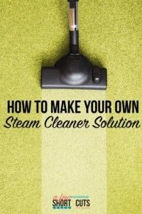 Best Natural Homemade DIY Cleaners and Recipes - Homemade Steam Cleaner Solution - All Purposed Home Care and Cleaning with Vinegar, Essential Oils and Other Natural Ingredients For Cleaning Bathroom, Kitchen, Floors, Laundry, Furniture and More http://diyjoy.com/best-homemade-cleaners-recipes