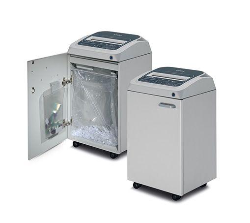 DK260TSS5 Broyeur de papier coupe droite niveau de sécurité 2, compact et robuste, pour petit groupe de travail.