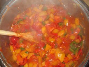 Rezept: Paprika – Gemüse – Letscho Bild Nr. 3