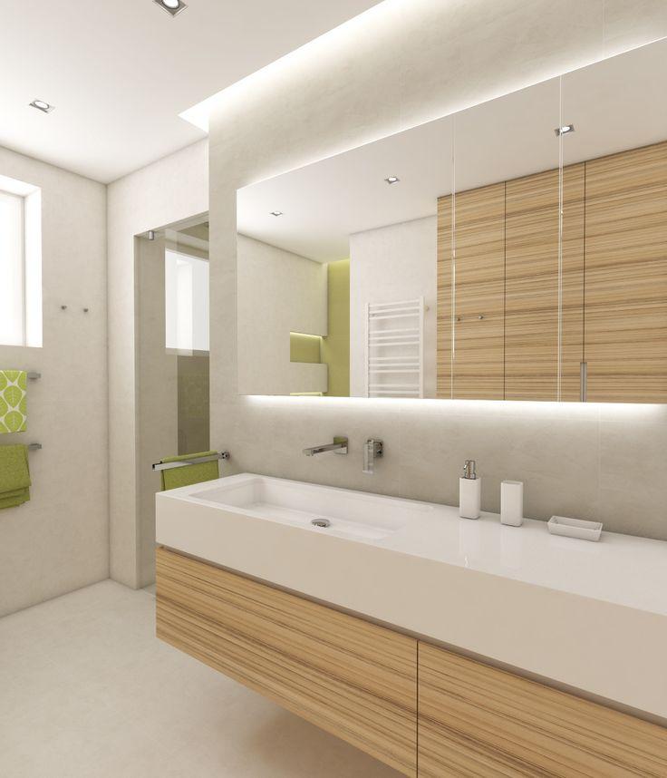 Architect Katka Petkovšek for Perfecto design: Modern bathroom CLAIRE