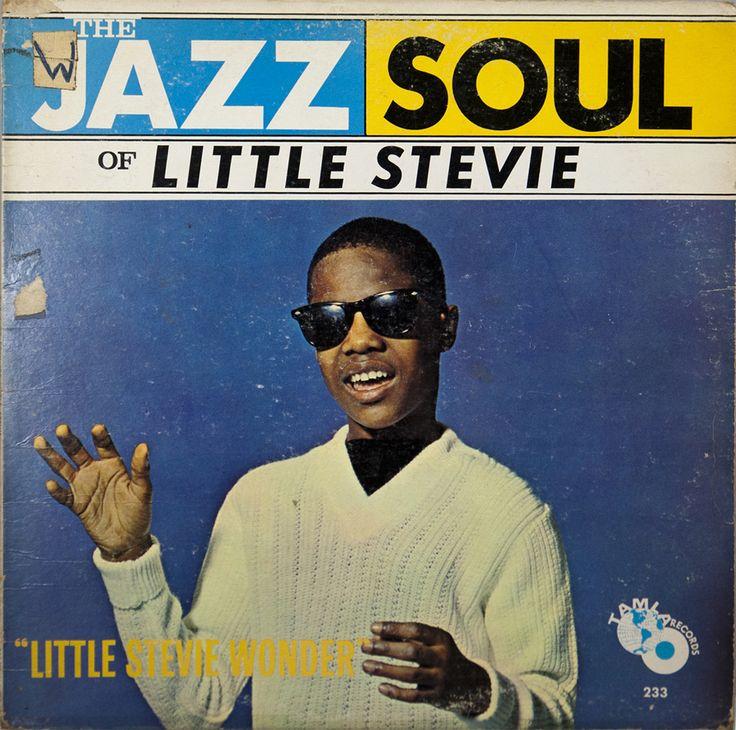 Stevie Wonder's 1962 debut album — The Jazz Soul of Little Stevie